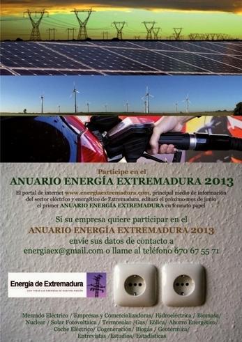 ANUARIO ENERGIA EXTREMADURA