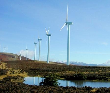 Parque eolico Elgea Alava