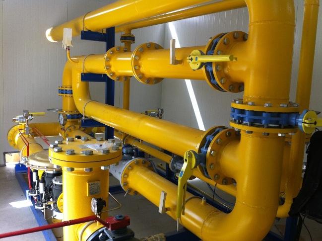 ERM de doble línea de una Instalación Industrial en fábrica tomatera