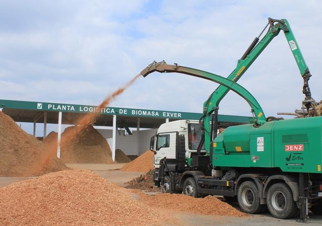 Planta Logística de Biomasa de Exver en Navalmoral de la Mata
