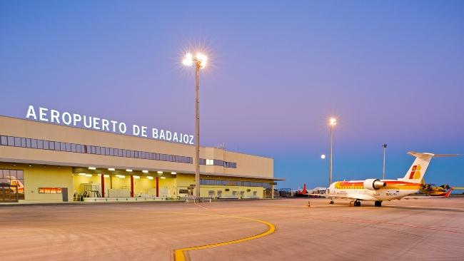 aeropuerto badajoz aena