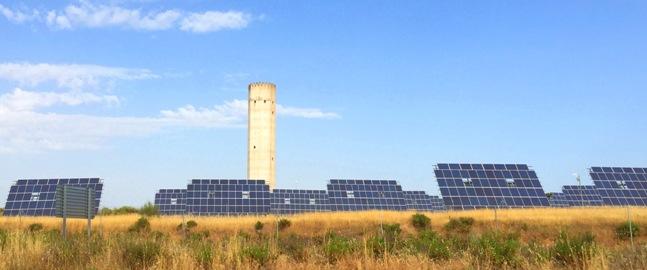 Parque Fotovoltaico en Almaraz, Cáceres