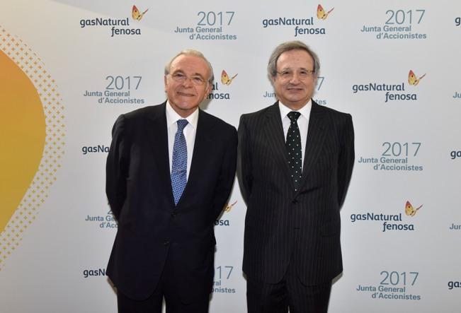 Isidro_Fainé y Rafael_Villaseca