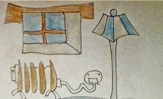 radidor lampara