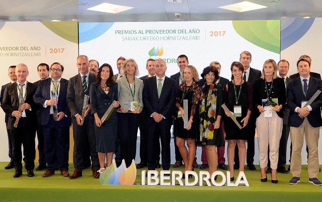 2017-10-17. Iberdrola entrega los Premios al Proveedor del año 2017 en España