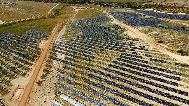 Iberdrola _ Evolución construcción proyecto fotovoltaico Nuñez de Balboa _ Extremadura